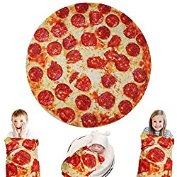 Giant Pizza Blanket 60 Inch