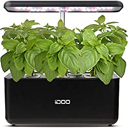 Indoor Herb Garden Starter Kit: Hydroponics Growing System