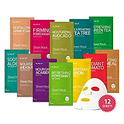 Korean Face Mask 12 sheets: The Ultimate Supreme Collection for Every Skin Condition