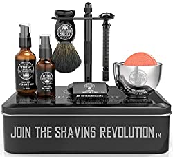Gift Sets For Men: Luxury Safety Razor Shaving Kit