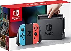 Nintendo Switch 32GB Console Video Games w/ 32GB Memory Card