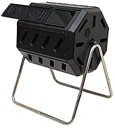 Outdoor IM4000 Tumbling Composter, 37 gallon, Black