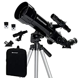 Portable Refractor Telescope 70mm Travel Scope