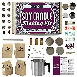 Soy Candle Making Kit for Adults (49-Piece Set)