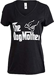 """The Dogmother"" Women V-Neck T-Shirt"