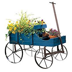 Cool Gifts For Gardeners: Wagon Decorative Indoor/Outdoor Garden Backyard Planter