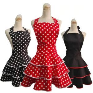 Cute Retro Apron For Woman