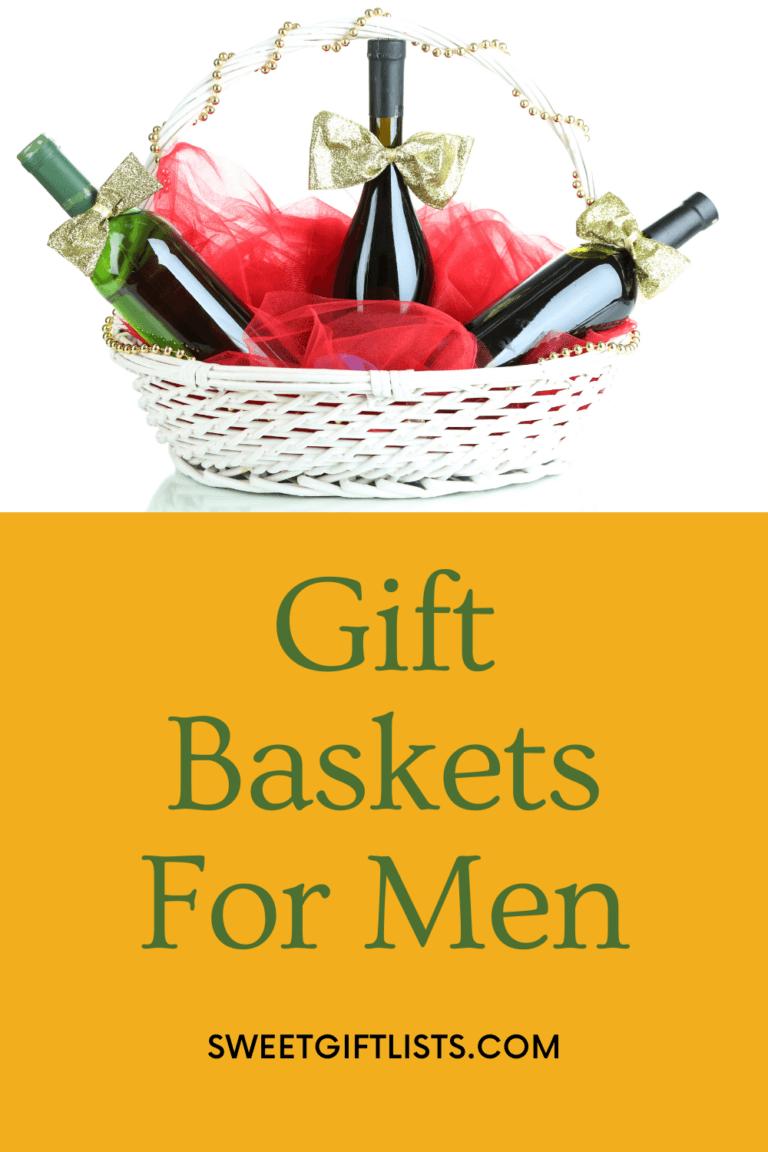 Gift Baskets For Men