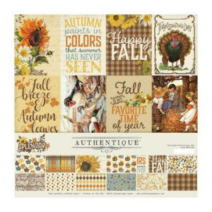 "Authentique Splendor Collection Kit 12""X12"""