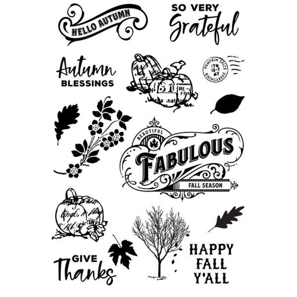Autumn Splendor Stamps
