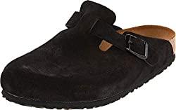 BIRKENSTOCK Boston Soft Leather Clog