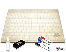 Battle Grid Game Mat 24x36