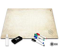 Battle Grid Game Mat24x36
