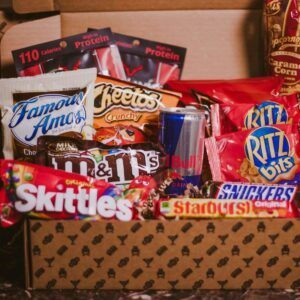 Gift Baskets For Men: College Care Package BroBox