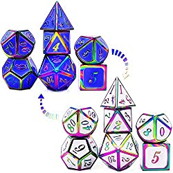 Color Changing by Temperature Metal Dice