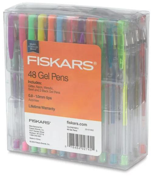 Fiskars Gel Pen Classroom Set