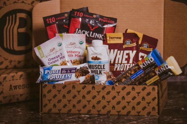 Gift Baskets For Men: Fitness BroBox