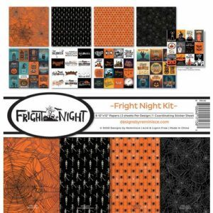 Fright Night Collection Kit 12 x 12 - PRE ORDER