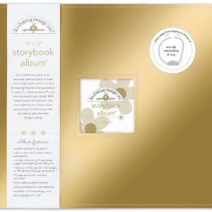 Gold Storybook 12 x 12 Album
