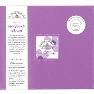 Lilac Storybook 12 x 12 Album