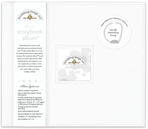 Lily White Storybook 12 x 12 Album