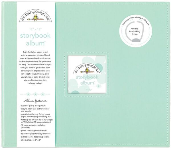 Mint Storybook 12 x 12 Album