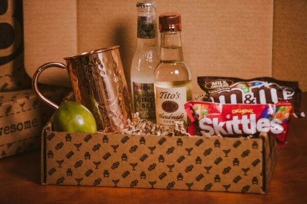 Gift Basket For Men: Moscow Mule BroBox