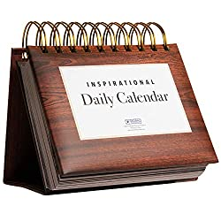 Motivational & Inspirational Perpetual Daily Flip Calendar