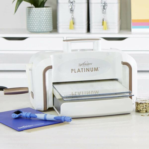 "Spellbinders Platinum Die Cutting and Embossing Machine - 8.5"" Platform"