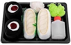 Rainbow Socks Sushi Socks Box Butterfish Maki Tuna - 2 Pairs
