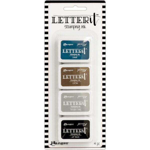 Ranger Letter It Stamping Ink Set #1