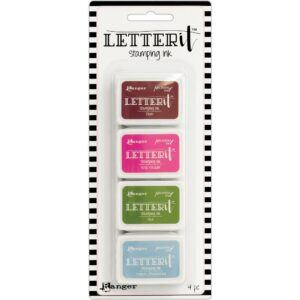 Ranger Letter It Stamping Ink Set #2