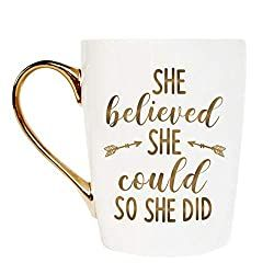 She Believed She Could So She Did Coffee Mug For Her