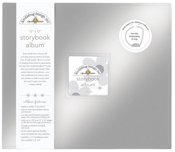 Silver Storybook 12 x 12 Album