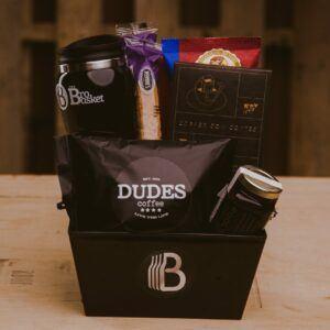 Gift Baskets For Men: Caffeine