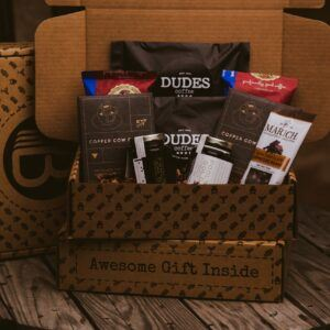 Gift Baskets For Men: The Cup O Joe BroBox