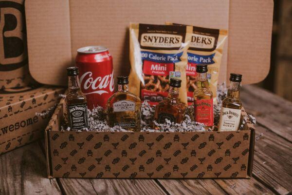 Gift Baskets For Men: The Jack Daniel's Taster Gift Set