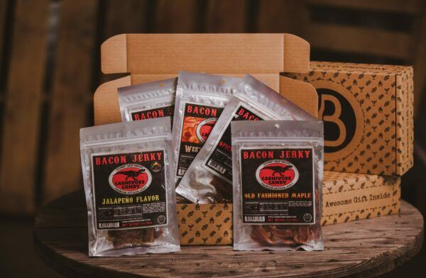 Gift Baskets For Men: The Savory Bacon Jerky BroBox