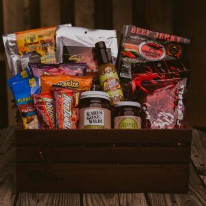 Gift Baskets For Men: The Spicy Sampler Supreme