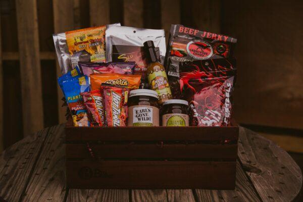 Gift Baskets For Men: The Spicy Sampler Supreme
