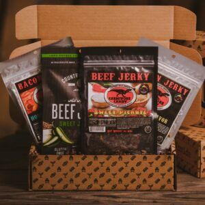 Gift Baskets For Men: The Sweet and Spicy Jerky BroBox