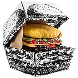 Burger Socks Box - 2 Pairs
