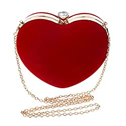 Goodbag Heart Shaped Evening Purse