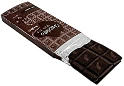 Novelty Socks: Men Women Novelty Dark Chocolate Bar Socks - 1 Pair