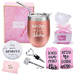 Not a Day Over Fabulous Wine Tumbler Kit