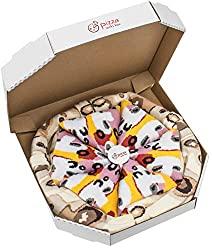 PIZZA SOCKS BOX Capriciosa 4 pairs