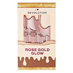 Rose Gold Glow: Mini Chocolate Highlighter Palette
