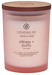 Stillness + Purity (Rose Water) Scented Candle Medium