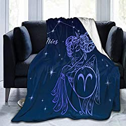 "Aries Soft Throw Blanket 40""x50"""