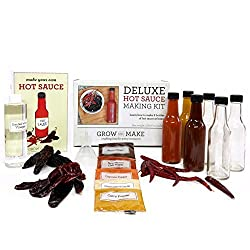 Best Gifts For Teenage Boys: Deluxe DIY Hot Sauce Making Kit
